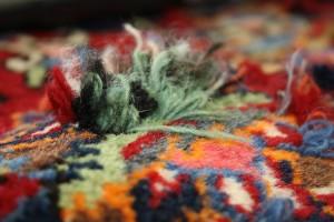 Teppichknüpfen bei Mottenschäden