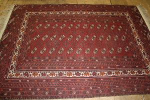 Spannen von Teppichen