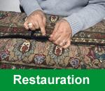 Restauration und Ausbesserung von Teppichen